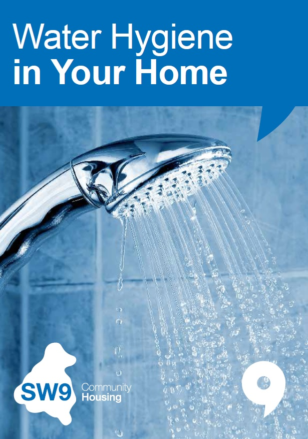 Water hygiene front cover