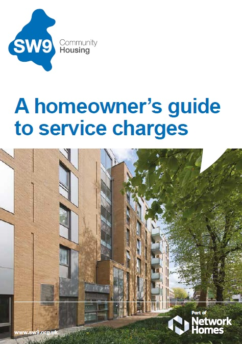 Service charge front cover